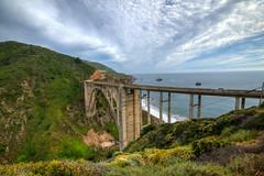 The Bixby Bridge (ap0013) Tags: bixbybridge california pacific coast highway bixby bridge pch pacificcoasthighway cal ca landscape ocean pacificocean