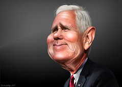Mike Pence - Caricature (DonkeyHotey) Tags: michaelrichardpence mikepence donaldtrump mother indiana governor representative 6thdistrict republican gop donkeyhotey photoshop caricature cartoon face politics political photo manipulation photomanipulation commentary politicalcommentary campaign politician caricatura karikatuur karikatur