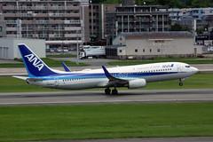 All Nippon Airways JA53AN (Howard_Pulling) Tags: fukuoka airport fuk fukairport japan japanese howardpulling