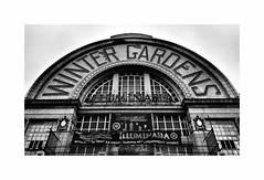 Blackpool (CJS*64) Tags: blackpool wintergardens theatre blackwhite bw blackandwhite nikon nikkorlens nikkor nikon1 nikonj5 cjs64 craigsunter cjs mono monochrome building architecture
