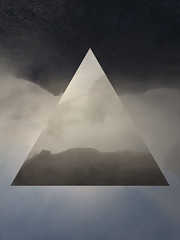 volcano-smoke (NEOTRINOS) Tags: geometric geometry landscape experience abstract sureal surreal triangle shape photoshop hipter neotrinos d750 thomassifferlecom
