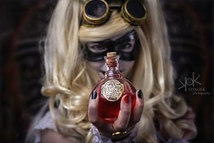 Steampunk Gotham Sirens: Aileen Autumn as Harley: my love potion. With this Puddin' will love me (SpirosK photography) Tags: steampunk steampunkgothamsirens gothamsirens harleyquinn aileen aileenautumn studio photoshoot victorian portrait strobist nikon d750 athens greece spiroskphotography spiroskphotographystudio cosplay costumeplay love potion lovepotion