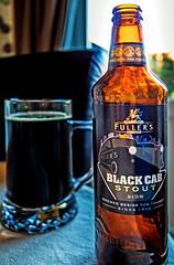 Glass of the dark stuff (Black Cab Stout) (Olympus OM-D EM1-II & M.Zuiko 12mm f2 Prime) (1 of 1) (markdbaynham) Tags: bottle pint drink ale fullers stout dark oly olympus omd em1 em1mk2 em1ii csc mirrorless evil mft m43 micro43 m43rd label mzd mz zd mzuiko zuikolic 12mm f2 prime blackcab