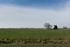 Winter at the farm (Nils Croes) Tags: canon agriculture 1740mm 60d farm blue sky winter landscape