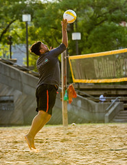 2017-07-17 BBV Men's Doubles (20) (cmfgu) Tags: craigfildespixelscom craigfildesfineartamericacom baltimore beach volleyball bbv md maryland innerharbor rashfield sand sports court net ball outdoor league athlete athletics sweat tan game match people play player doubles twos 2s men