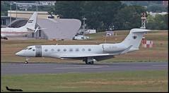 G-GSVI Gulfstream G650 c/n 6160 Executive Jet Charter Ltd (EGLF) 10/07/2017 (Ken Lipscombe <> Photography) Tags: ggsvi gulfstream g650 cn 6160 executive jet charter ltd eglf 10072017 farnboroughairporticaoeglfbizjetsaviationflyingtag