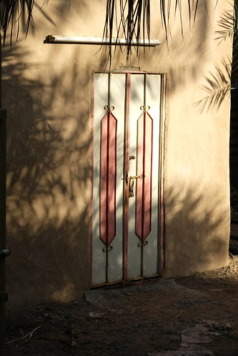 Door in Al-Ain Oasis