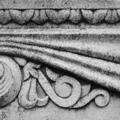 Headstone Detail (Photographs By Wade) Tags: morris oklahoma tombstone headstone gravemarker detail intricate design
