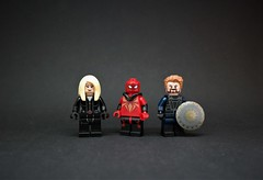 To infinity and beyond! (ⒽⓄⓅⒺ) Tags: lego marvel 2018 avengers infinity war thanos captain america spider man black widow steve rogers peter parker