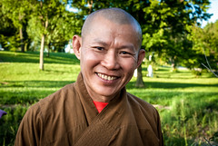 Stranger 16: Monk Tue Hanh of Kentucky (sniggie) Tags: 觀音 菩薩 佛 寺廟 移民者 佛教 和尚 buddhism chanhphaptemple kentucky mahayanabuddhism vietnameseamerican vietnamesebuddhisttemple 大乘