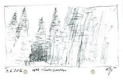 Wolfram Zimmer: Hinterzarten (ein_quadratmeter) Tags: wolframzimmer bilder kunst malerei gemälde wolfram zimmer konzeptkunst objektkunst mein freiburg burg birkenhof kirchzarten ausstellung ausstellungen exhibition exhibitions zeichnung zeichnungen bleistift wasserfarben acryl farbstifte landschaft bäume stimmungen ausdruck drawing drawings pencil watercolors acrylic colored pencils landscape trees wald moods expression schwarzwald black forest