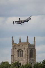 Lancaster (deltic17) Tags: bbmf lancaster spitfire hurricane bombercounty lincolnshire lestweforget