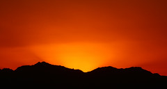 burning sunset (werner boehm *) Tags: wernerboehm sinaim redsea rotesmeer sunset sonnenuntergang