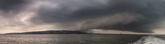 Storm cloud pano (A Crowe Photography) Tags: panorama stormscloudssunsetsandsunrises stormclouds clouds wales welshflickrcymru welshphotography welshlandscape welshphotographer sea seascape seaside cymru