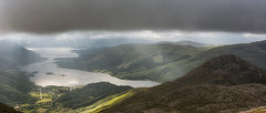 The Pap of Glencoe and Loch Leven (Katherine Fotheringham) Tags: pap glencoe loch leven scotland sunrays rays