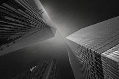 Untitled (bprice0715) Tags: canon canoneos5dmarkiii canon5dmarkiii architecture architecturephotography blackandwhite bw monochrome mono city urban nyc newyorkcity freedomtower dark moody contrast highcontrast lowkey travel lines shapes structure