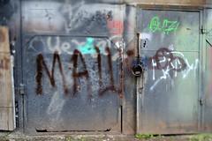 Private zone (dmitrytsaritsyn) Tags: nikkor pce micro 45mm f28d ed graffity nikon d3s building tilt shift