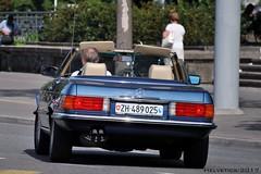 Mercedes-Benz SL-Klasse [R107] - Switzerland, Zürich (Helvetics_VS) Tags: licenseplate switzerland zürich oldcars mercedes sl r107