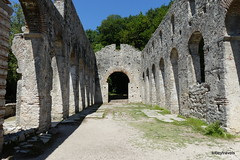 0014 Great Basilica , Butrint (4) (tobeytravels) Tags: albania butrint buthrotum illyrian greatbasilica