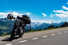 Motorrad Schweiz (K 3 N N Y) Tags: nikon d500 suzuki bandit 600 alpen schweiz swiss alps motorradtour reisen travel bike tour jaun pass kurven strase street kanton bern obersimmental digital 18105mm raw landscape nikkor
