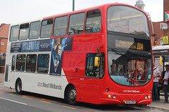 National Express West Midlands Volvo B7TL/Wright Eclipse Gemini 4676 (BX54 XPW) (Acocks Green) 'Katy' (john-s-91) Tags: nationalexpresswestmidlands volvob7tl wrighteclipsegemini 4676 bx54xpw acocksgreen route11a valerian