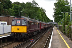 1Z33 33207 on the Rear of London Victoria - Faversham (Adam McMillan Railway Photography) Tags: class33 westmalling westcoastrailwaycompany heritage 1z33 33207 wcrc charter loco crompton mainline