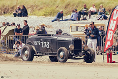 Pendine sands, Hot rod event 2017 (technodean2000) Tags: ford hot rod pendine sands wales uk nikon d610 baby blue red wheels classic car sea sky outdoor d810 old postcard style vehicle truck digital nikkor auto