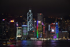 Hong Kong Island at night (Simon_sees) Tags: cbd city architecture building lights asia iconic holiday vacation travel skyline night hongkong