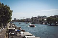 Hot summer day in Paris (Sam-H-A) Tags: france paris europe parisian river seine fujifilmxt2 fujifilm fujinon xt2 summer travel