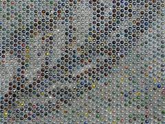 Detail, public art, Calgary city centre (JasChamPhoto) Tags: canada alberta calgary tile publicart downtown