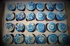 Reunion Cupcakes & Fondant (TheBakeryFairy♥) Tags: fondant gumpaste thebakeryfairycom thebakeryfairy cupcakes reunioncupcakes reunion highschoolcolors