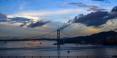Morning at Ma Wan, HK (kcma17) Tags: sunset beach water sky blue red art fantastic marvelous intriguing fantastical beautiful clever subtle fine wonderful brilliant excellent splendid amazing remarkable landscape night