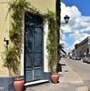 Strange door (adriansericano) Tags: areco door strange beautiful design plants way olddoor oldfashion arquitecture buenosaires argentina beautydoor fashion lantern decoration