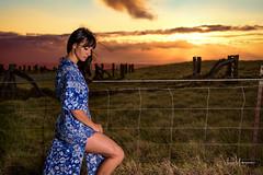 Lindsey Akiona July 2017 01 (JUNEAU BISCUITS) Tags: waikiiranch sunset landscape hawaii bigisland ranch portrait portraiture hapa hapagirl nikond810 nikon beauty beautiful glamour