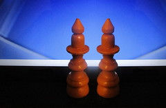 Double queen - Macro Mondays (kontinova2*On vacation*) Tags: queens white chess macromondays double
