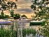By yon bonnie banks. (Phelan (Shutter Clickin) Goodman) Tags: loch lomond balmaha scotland boats water sunset panasonic gx80