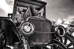 Lifetime Warranty (drei88) Tags: thewhitecompany cleveland 1918 modeltbc ww1 firstworldwar delivery truck vintage antique survivor charm rust restoration motor headlights automotive trucking legacy elegance elegant