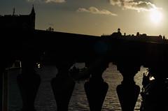 Amsterdam (nascimbene2011) Tags: amsterdam rio eurotrip europ vacaciones sunset atardecer sun sol puente nikon nikonistas barco boat d5100