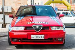 Vintage Vehicles at Montalto, June 2017 (MikePScott) Tags: ascolipiceno camera car italia italy lemarche lens montaltodellemarche nikon2470mmf28 nikond800 transport