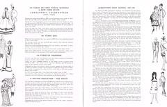 Centennial Celebration & Dedication booklet p.7-8 (terry lorenc) Tags: jhs class 1967 jamestown high school new york