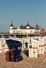 Paulin (uhx72) Tags: beach usedom baltic sea ahlbeck seebrücke pier strandkorb summer landscape vacation