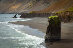 Hafbylgjur (Jack Landau) Tags: iceland landscape water ocean sea coast nature jack landau waves surf tide