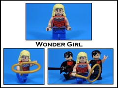 Wonder Girl (MrKjito) Tags: lego minifig super hero wonder girl cassandra sandsmark tim drake connor kon el young justice teen titans woman dc comics comic