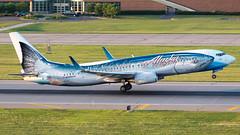 MSP N559AS (Moments In Flight) Tags: msp kmsp mspairport flyingfish soaringsalmon n559as wildalaskaseafood alaskaairlines b738 737 737800 boeing aviation airliner avgeek chrislundberg