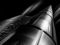 Infinite (#201) Tags: architektur omvheadquarter architecture wien österreich at schwarzweis mono