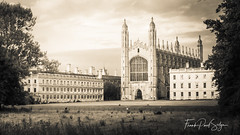 King's College seen from the Backs (Explored) (frankps) Tags: college university field church cathedral kingscollege cambridge