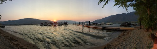 Lake osoyoos panorama