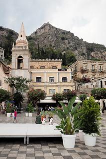 Chiesa Taormina, Sicily, Italy