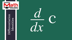 Derivative of a constant with respect to x (Math Doubts) Tags: calculus formula identity rule proof differentiation derivative constant math maths mathematics