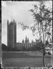 Westminster, London, Rex Hazlewood, 1918-1919 (State Library of New South Wales collection) Tags: australia worldwarone ww1 statelibrary nsw newsouthwales rex hazlewood war correspondents westminster housesofparliament london